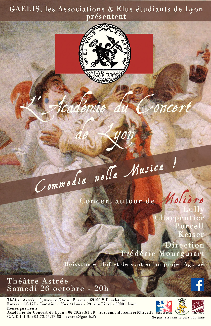 Commedia - Flyers